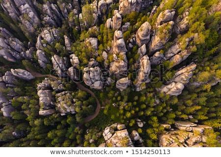 steen · poort · natuur · schoonheid · berg · groene - stockfoto © Hochwander
