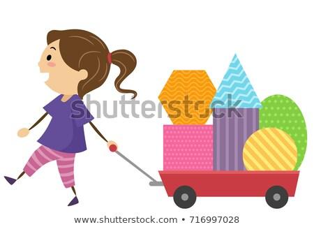 Kinderen fundamenteel illustratie Stockfoto © lenm