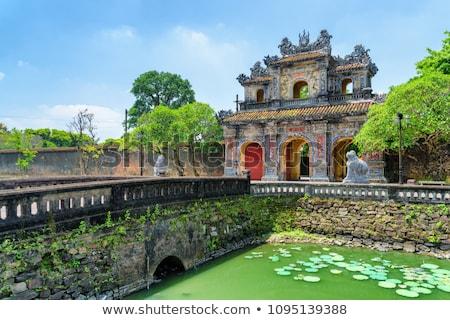 Vietnam, Hue. East entrance gates of the  Imperial City stock photo © romitasromala