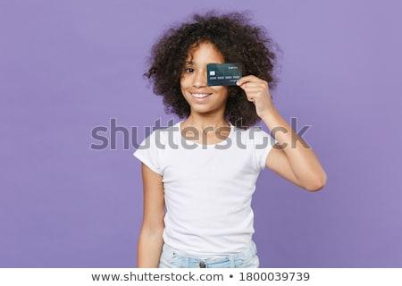 Colegiala negro dinero establecer mujer Foto stock © toyotoyo