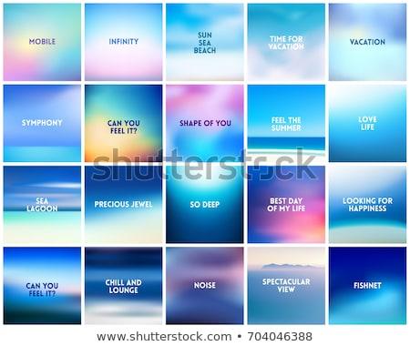 turva · fundos · vetor · pôr · do · sol · nascer · do · sol · papel · de · parede - foto stock © marysan