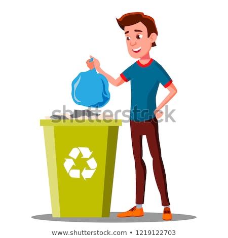 odpadów · odizolowany · biały · papieru · tle - zdjęcia stock © pikepicture