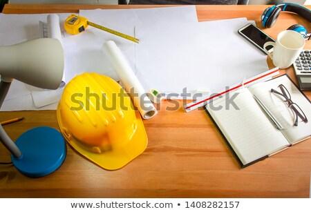 Trabalho duro negócio mesa de escritório equipamento trabalhar espaço Foto stock © makyzz