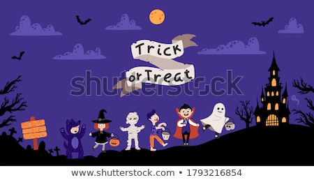 A kid zombie character Stock photo © bluering