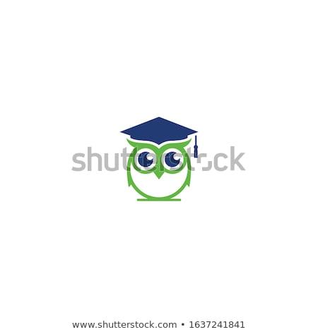 online education cartoon isolated vector emblem stock photo © robuart