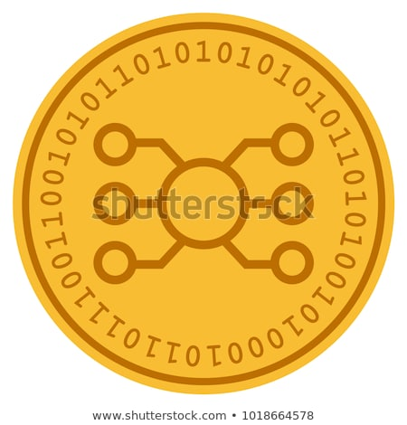 Internet Node Token - Digital Coin Vector Icon Stock photo © tashatuvango