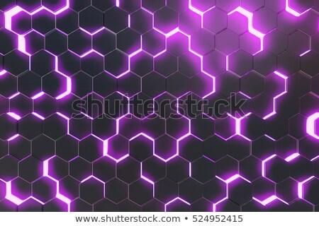 Lila fény sejt üzlet terv háttér Stock fotó © Andreyfire