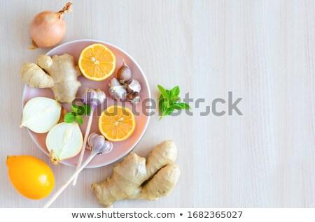 imune · saúde · super · comida · pratos - foto stock © furmanphoto