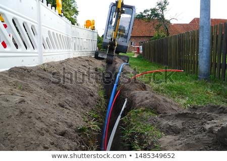 волокно · оптический · кабеля · катиться · широкополосный · интернет - Сток-фото © artush