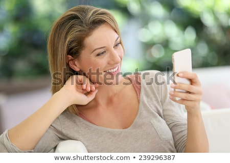 old woman and the text we the women Stock photo © nito
