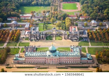 vista · palacio · Alemania · parque · terraza · jardín - foto stock © borisb17