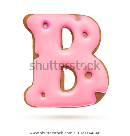 A letter B for bread Stock photo © colematt