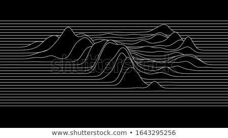 white background with contour lines Stock photo © SArts