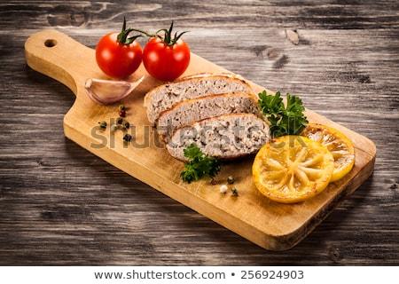Steak turkey grill on wooden cutting board  Stock photo © Illia