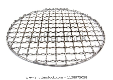 Barbecue Metal Grid Stock photo © albund