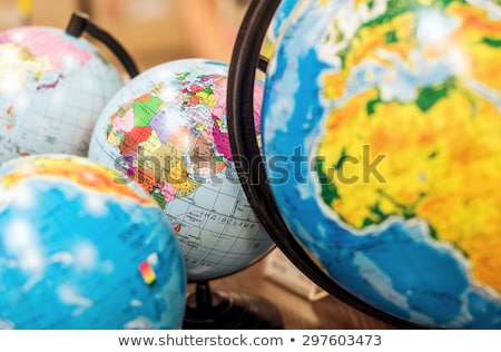 Globe Model of Earth Planet Geography Lessons Stock photo © robuart