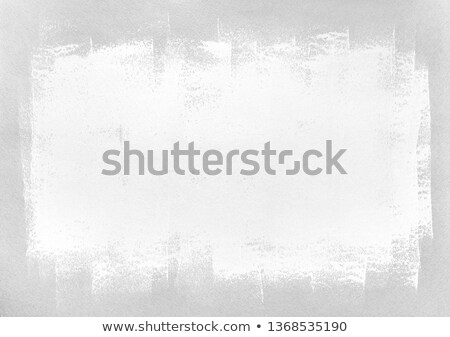 Stok fotoğraf: Hands Framing Grey Painted Wall Interior