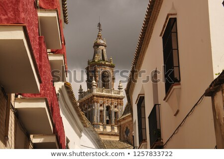 通り スペイン 歴史的 センター 建物 市 ストックフォト © borisb17