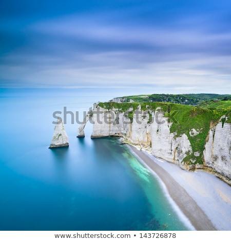 Plaj ünlü su doğa deniz Stok fotoğraf © tilo