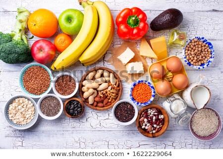 Vegetarisch dieet gezonde voeding vruchten groenten Stockfoto © furmanphoto