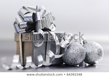 Angelo scatola regalo Natale san valentino giorno simbolo Foto d'archivio © robuart