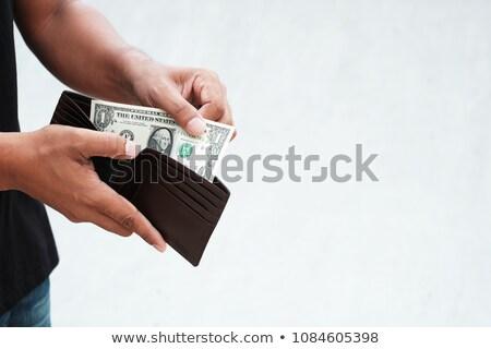 One dollar in the hand Stock photo © vtorous