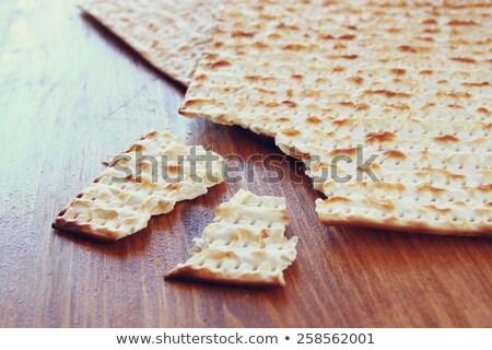 Traditionnel rituel pain Pâque juive alimentaire vacances Photo stock © furmanphoto