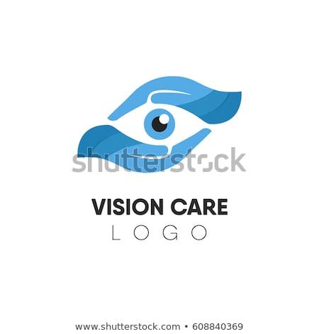 Branding Identity Corporate Eye Care vector logo design Stock photo © Ggs