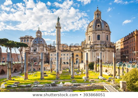Trajan Forum, Rome, Italy Stock photo © vladacanon