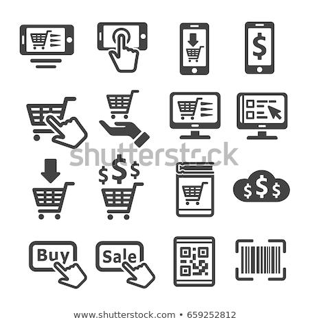 Stok fotoğraf: E-ticaret · simgeler · renkli · iş · Internet