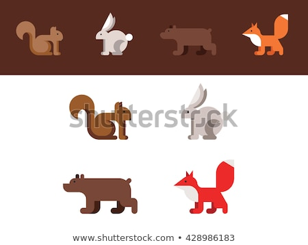mosaic red squirrel stock photo © Musat