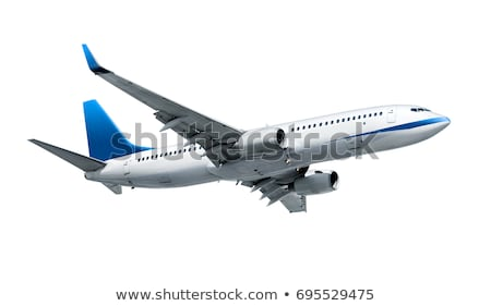 Airplane on white Stock photo © elenaphoto