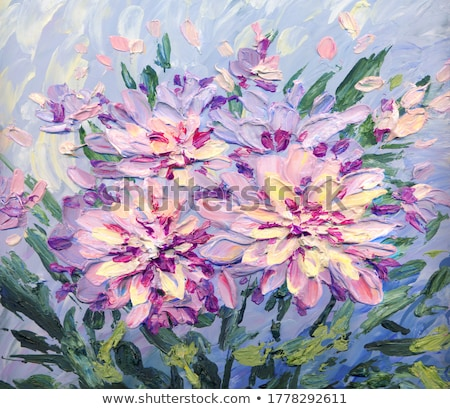 krizantem · çiçek · sonbahar · sahne · beyaz · sarı - stok fotoğraf © goce