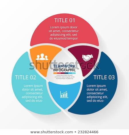 social circles infographic stock photo © mikemcd
