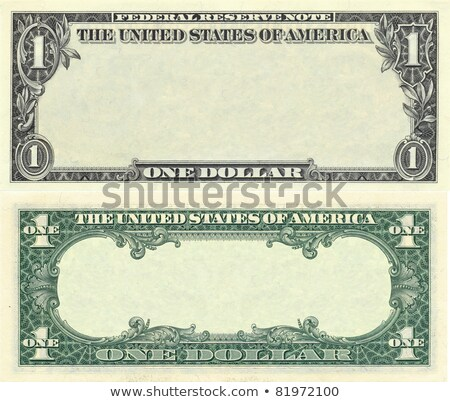 Сток-фото: Clear 1 Dollar Banknote Pattern