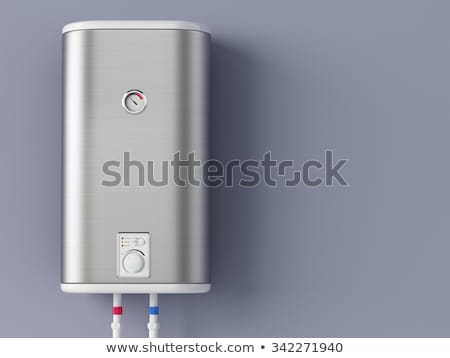 Blue electric heater Stock photo © magraphics