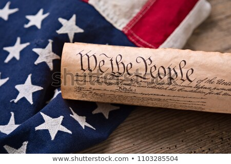 Stock photo: Us Constitution - We The People