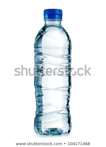 Garrafa água mineral cair azul vida Foto stock © Sarunyu_foto