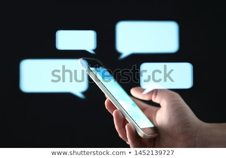 Internet texts conception Stock photo © deyangeorgiev