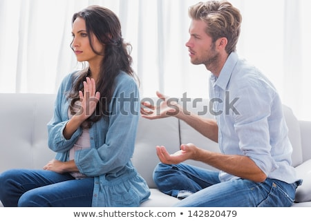 violent couple dispute Stock photo © photography33