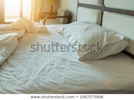 sunrise and bed Stock photo © Paha_L