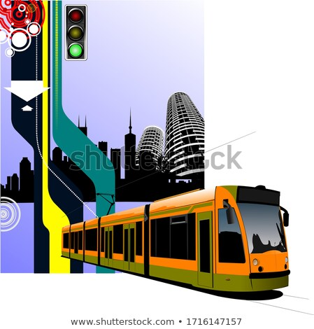 city tram Stock photo © mechanik