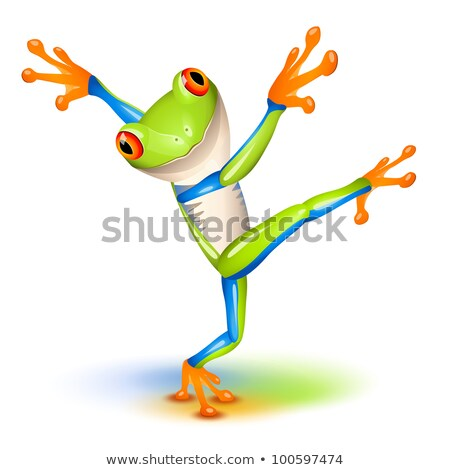 Dancing Tree Frog Stock photo © tilo