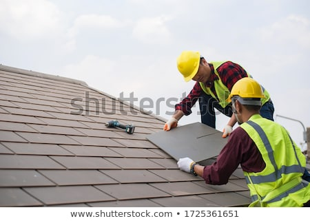 Two roofers Stock photo © photography33
