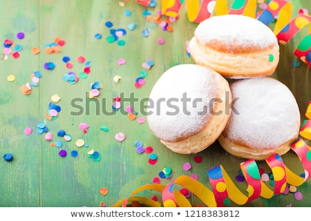 carnival pastry and decoration stock photo © m-studio