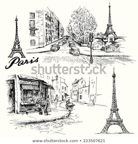 café · rua · espaço · compras · varejo · cidade - foto stock © davidgn
