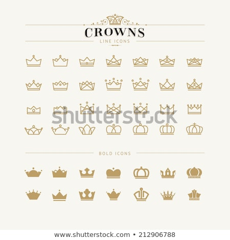 Chess crest. Vector illustration  Stock photo © carodi