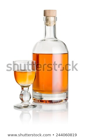 isolated liqueur bottle Stock photo © prill
