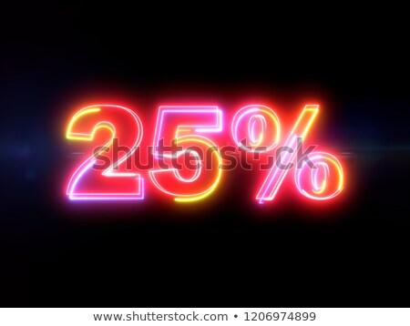 розовый · двадцать · процент · изолированный · белый · 20 - Сток-фото © creisinger