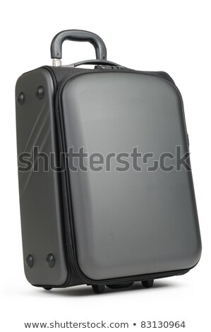 Modern convenient suitcase on castors on a white background Stock photo © shutswis